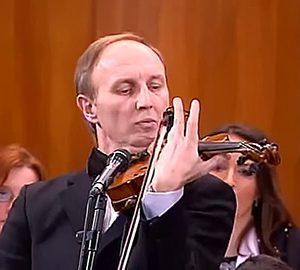 Moma Stanojević sa violinom